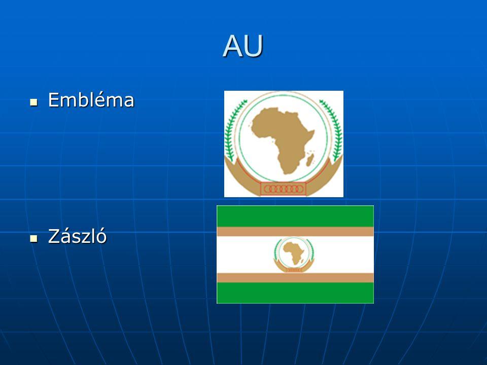 AU Embléma Embléma Zászló Zászló
