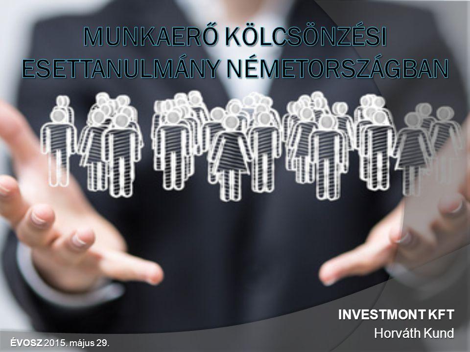 INVESTMONT KFT Horváth Kund ÉVOSZ 2015. május 29.