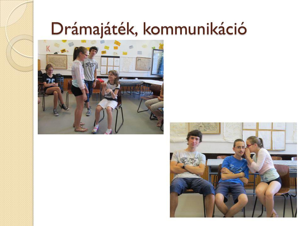 Drámajáték, kommunikáció