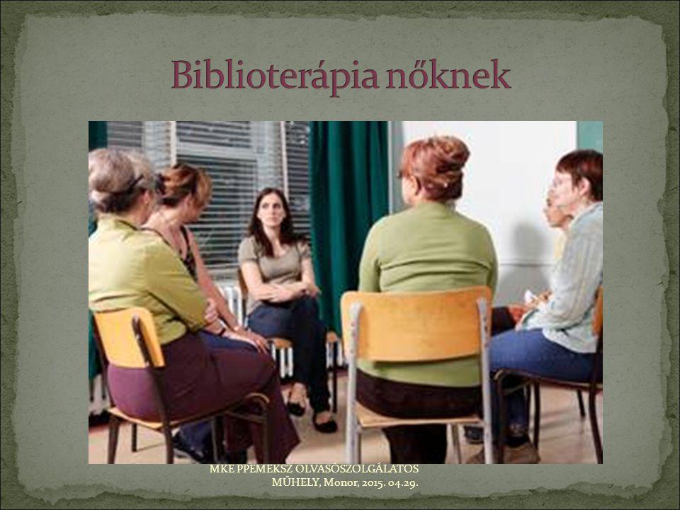 nőknek szóló terápiás szolgáltatások szakirodalma pl.