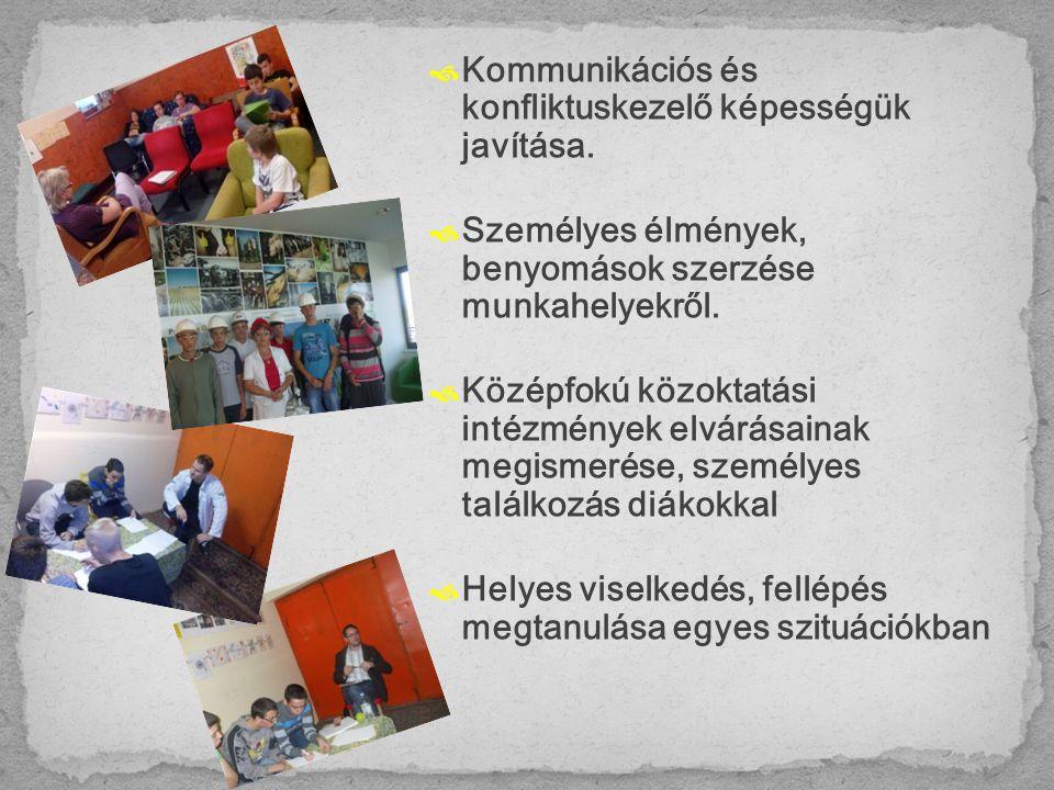 3 x 12 fő 12-16 év közötti gyermekvédelmi gondoskodásban részesülő gyermek a Fejér Megyei Gyermekvédelmi Központ lakásotthoni ellátottjai közül 12 fő DÉG 12 fő ELŐSZÁLLÁS 12 fő MEZŐFALVA