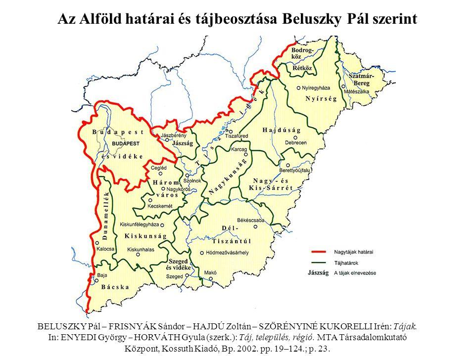 –Az ún.Közép-Tiszavidék arculatát megváltoztatta a mesterséges Tisza-tó kialakítása.