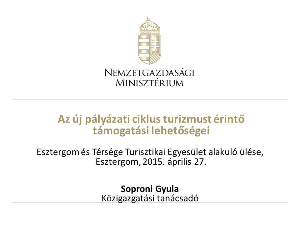 2 Lehetőségek az operatív programokban 2014-2020 1.Gazdaságfejlesztési és innovációs operatív program (GINOP) – kevésbé fejlett régiók 2.Terület és településfejlesztési operatív program (TOP) – megyék, megyei jogú városok 3.Versenyképes Közép-Magyarország operatív program (VEKOP) – Közép-Magyarország 4.Vidékfejlesztési operatív program (VP)