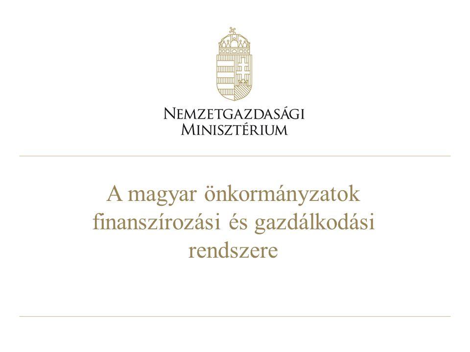 A magyar önkormányzatok finanszírozási és gazdálkodási rendszere