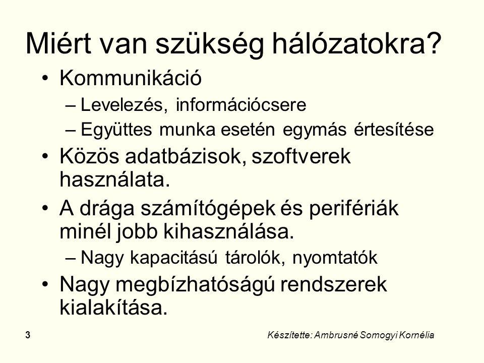 43Készítette: Ambrusné Somogyi Kornélia Állományok Típusai: –közönséges (adat, program) - –spec.