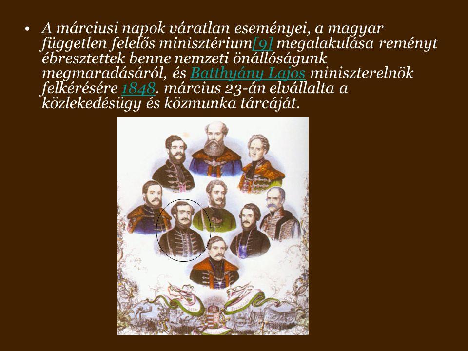 Politikai működése mellett folytatta közgazdasági újításait. Az állattenyésztésben.a hajózásban,az építészetben.. Duna-Pest-Buda-hajózás- hajógyártás1