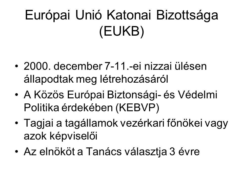 Európai Unió Katonai Bizottsága (EUKB) 2000.