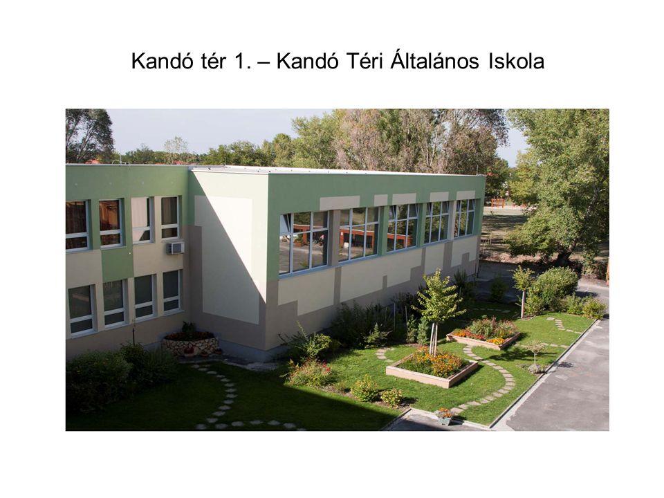 Kandó tér 1. – Kandó Téri Általános Iskola
