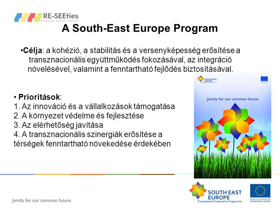 RE-SEEties - Projekt adatok South East Europe Program - 4.