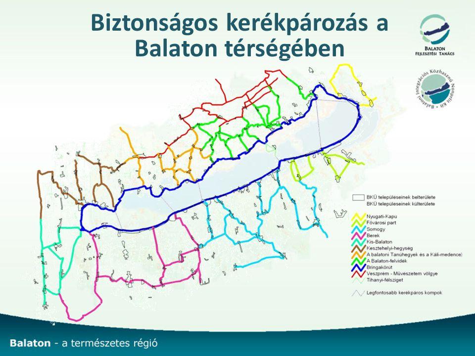 Biztonságos kerékpározás a Balaton térségében