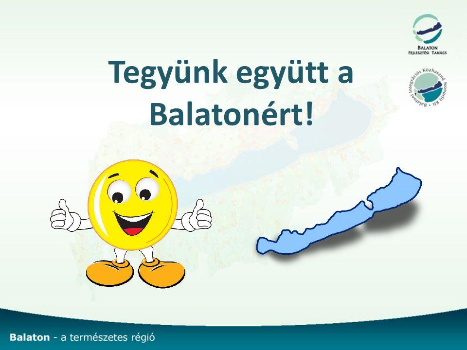Tegyünk együtt a Balatonért!
