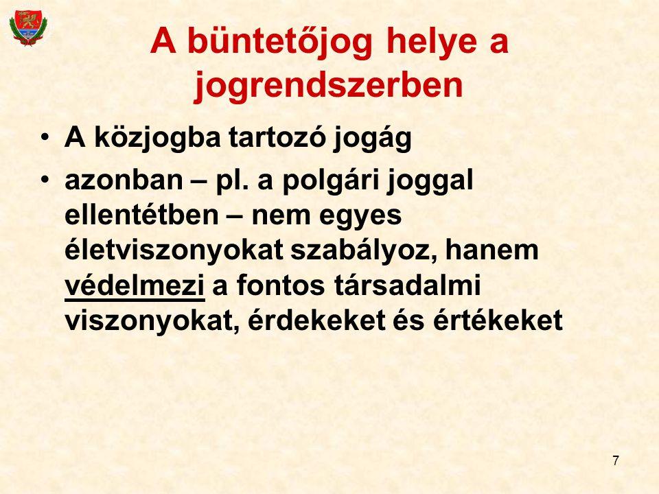 """28 """"Megfelelő életkor Magyarországon az, aki elkövetéskor: 14 év alatt: gyermekkorú, nem büntethető 14-18 év között: fiatalkorú, büntethető, de a felnőtteknél enyhébb jogkövetkezmények"""