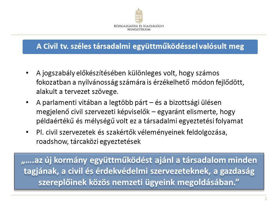3 Új jogszabályok 2011.évi CLXXV.