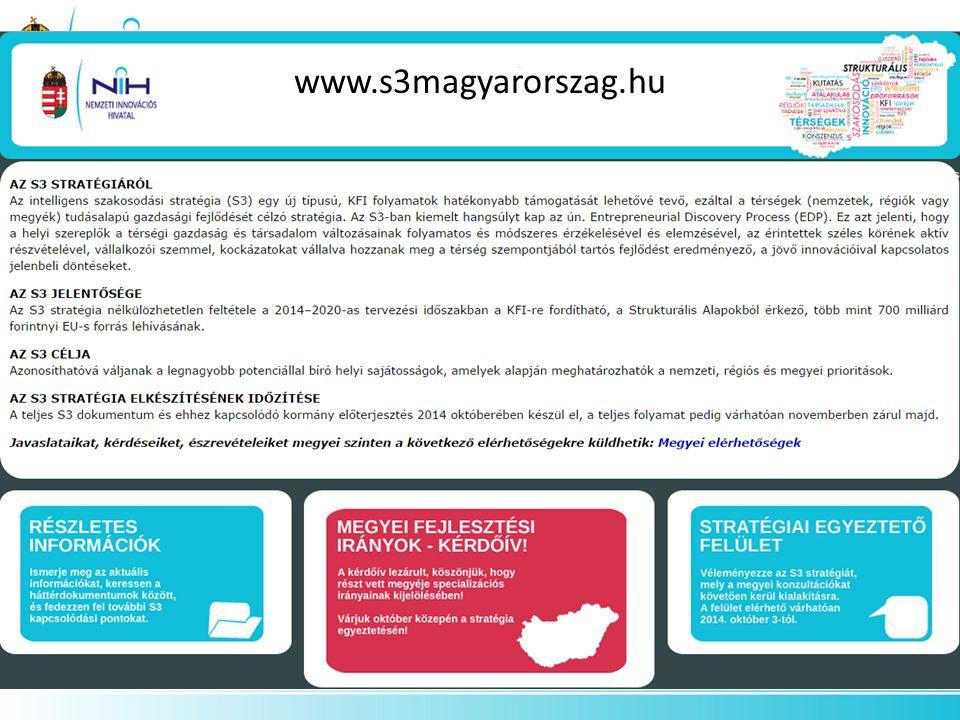 A stratégiai célok meghatározása a versenyképesség aspektusainak erősítésére épít: Értékteremtés Együttműködés Kihíváskeresés A GINOP stratégiai céljai (2014-2020) 5.