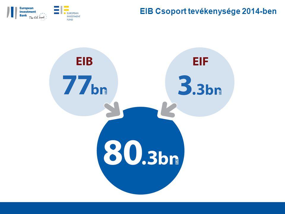 EIB Csoport tevékenysége 2014-ben