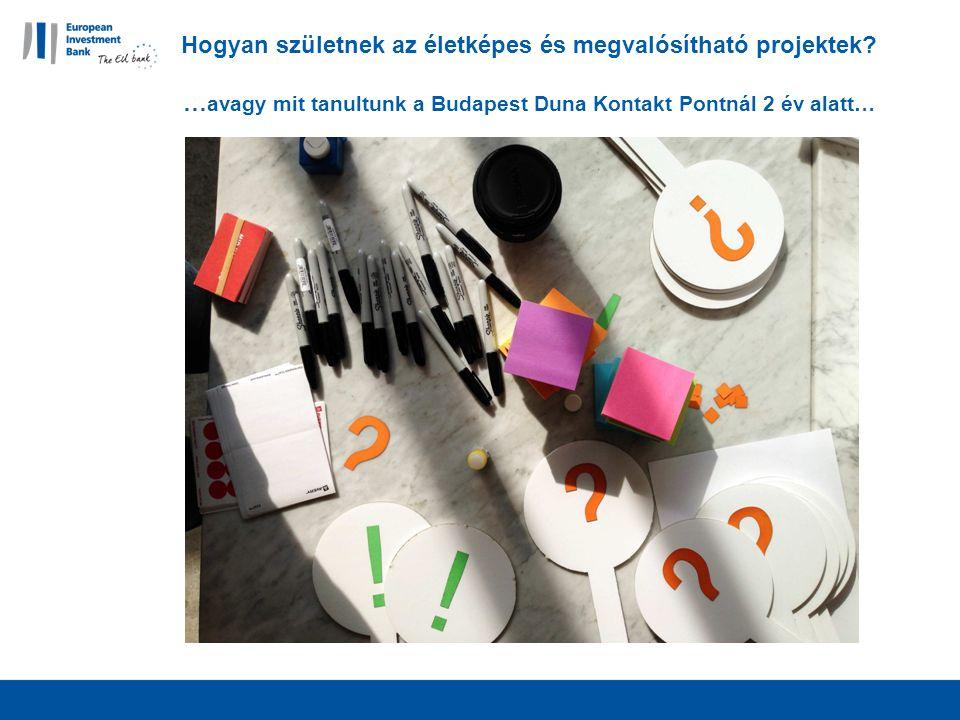 Hogyan születnek az életképes és megvalósítható projektek.