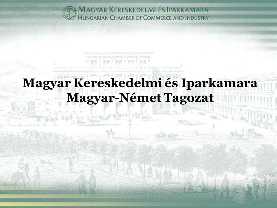 Magyar Kereskedelmi és Iparkamara Magyar-Német Tagozat