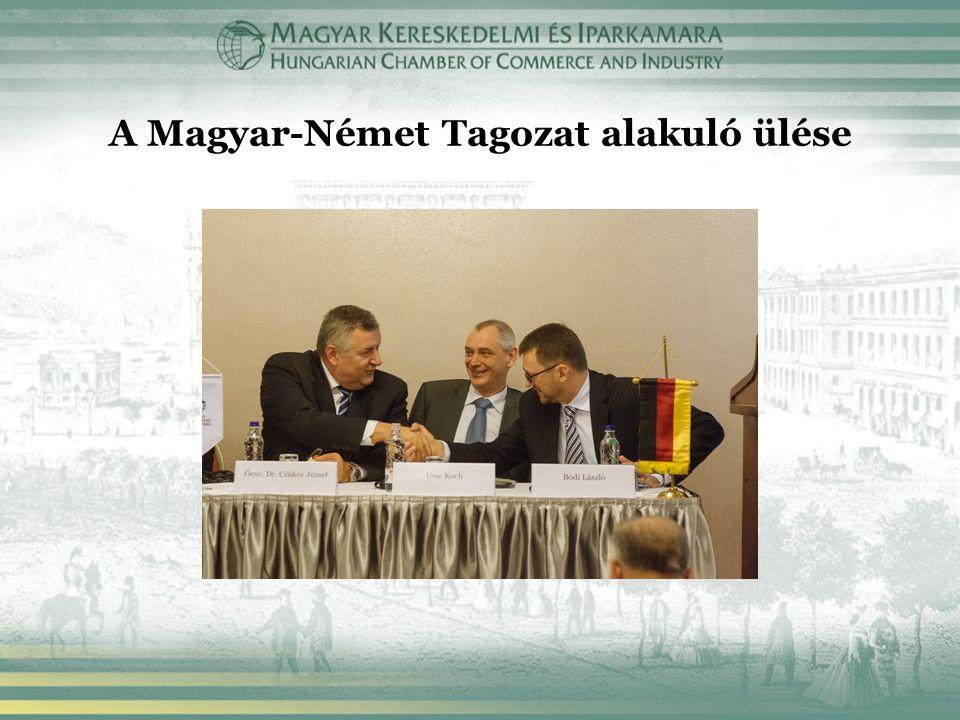 A Magyar-Német Tagozat alakuló ülése
