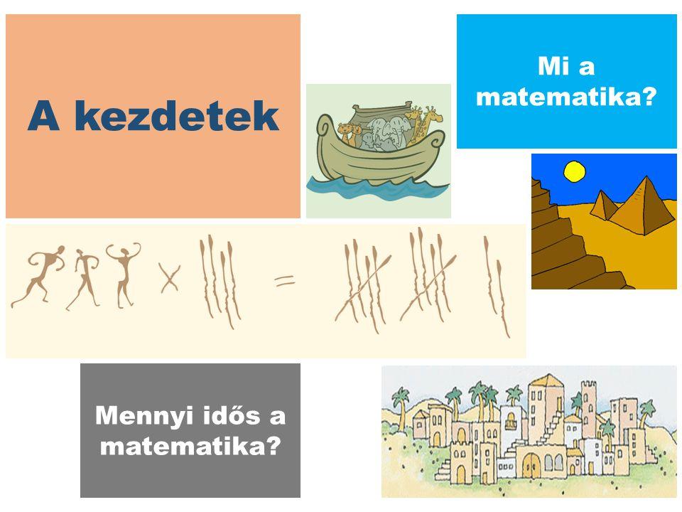 A kezdetek Mi a matematika? Mennyi idős a matematika?