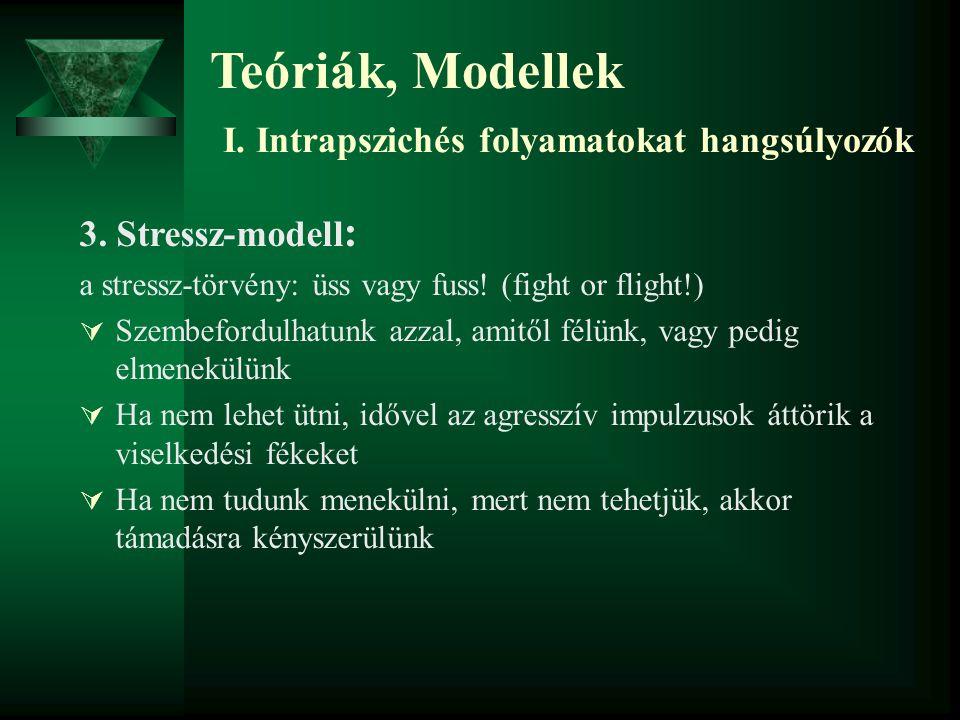 Teóriák, Modellek II.