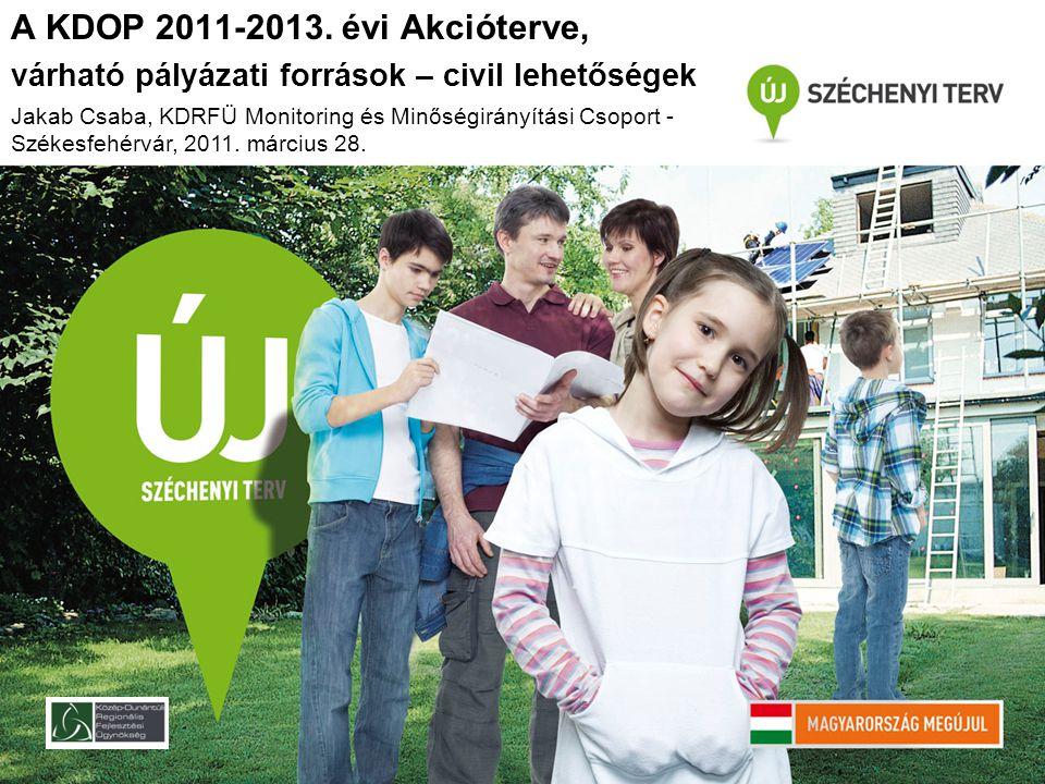 Meghirdetve: 2011.február 11. (2009-2010. évi keret terhére) Min.