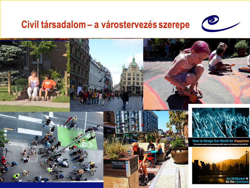 Civil társadalom – a várostervezés szerepe