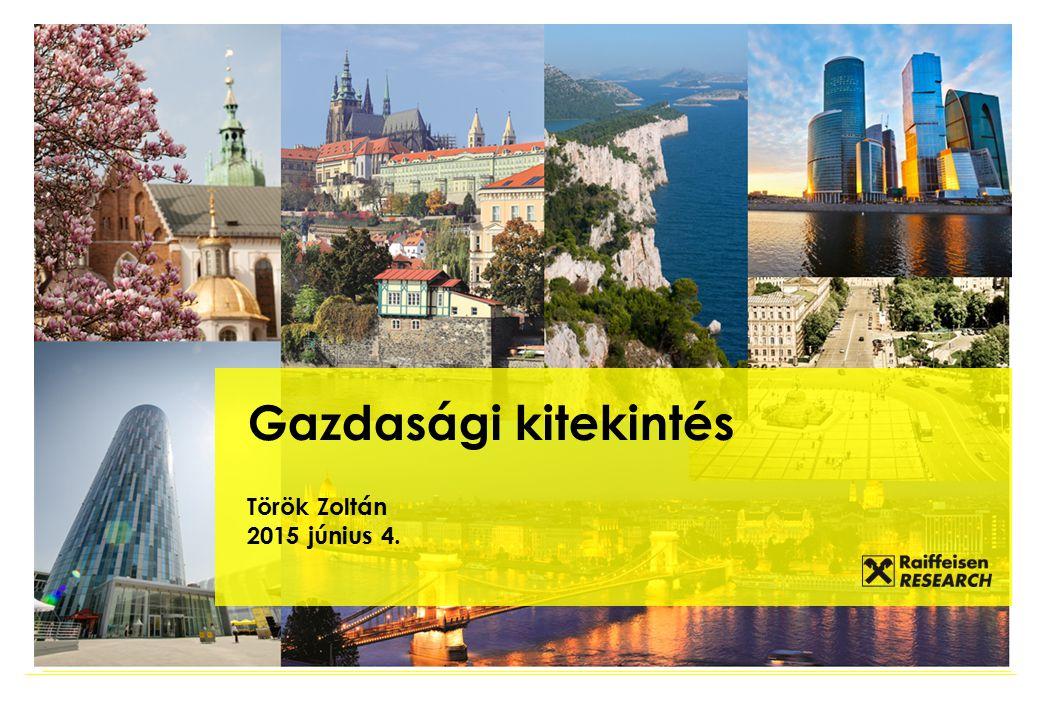 Gazdasági kitekintés Török Zoltán 2015 június 4.