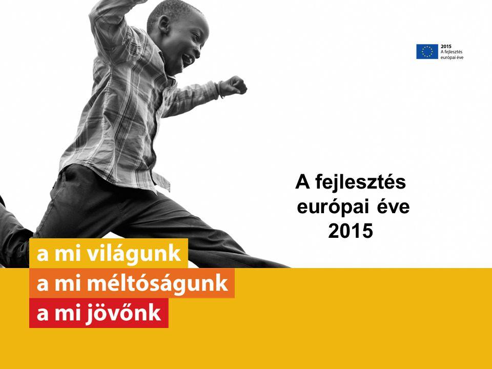 Január – Európa a világban Február – Oktatás Március – Nők és lányok Április – Egészség Május – Béke és biztonság Június – Fenntartható, környezetbarát növekedés, méltányos állások, vállalkozások Július – Gyermekek és fiatalok Augusztus – Humanitárius segély Szeptember – Demográfia és vándorlás Október– Élelmiszer-biztonság November – Fenntartható fejlődés és éghajlat-politika December – Emberi jogok és kormányzás Tematikus hónapok