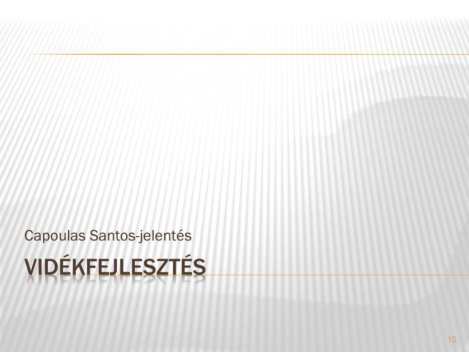 Capoulas Santos-jelentés 15