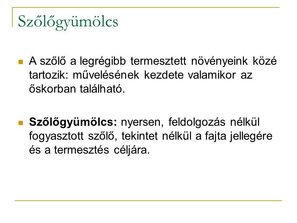 Irodalomjegyzék Benyák Zoltán: Magyar borok és borvidékek Tompa Béla: A szőlőgyümölcs itthon és a nagyvilágban www.bormustra.hu itthon.hu – Turizmus Bulletin: X.