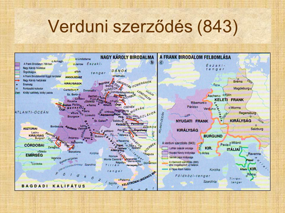 Verduni szerződés (843) Pont du Gard Nîmes