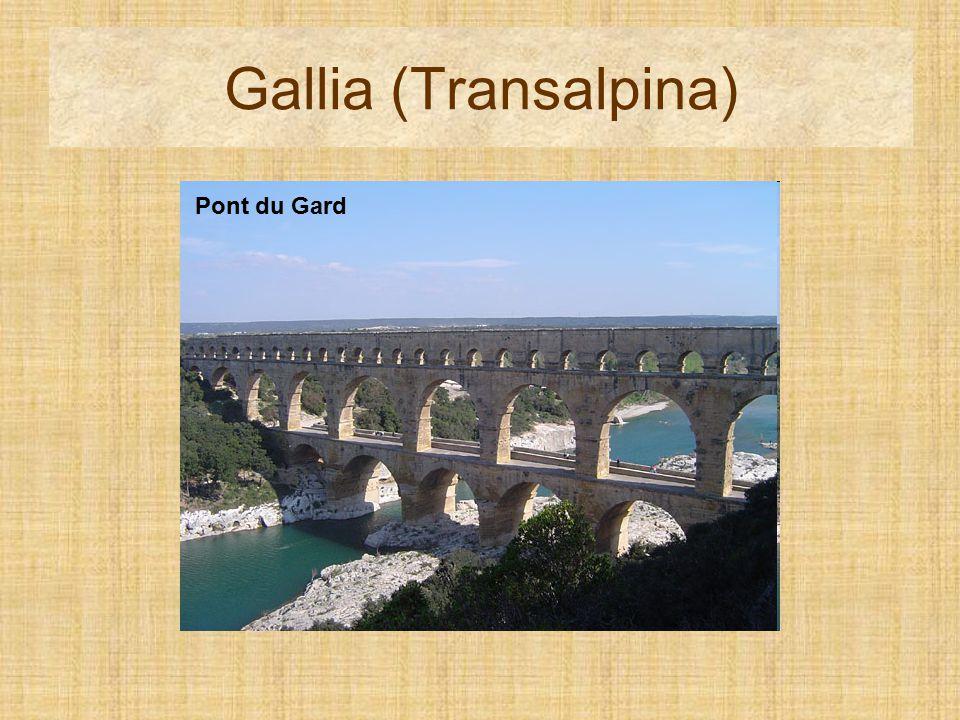 Gallia (Transalpina) Pont du Gard