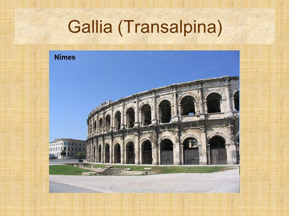 Gallia (Transalpina) Pont du Gard Nîmes Nîmes