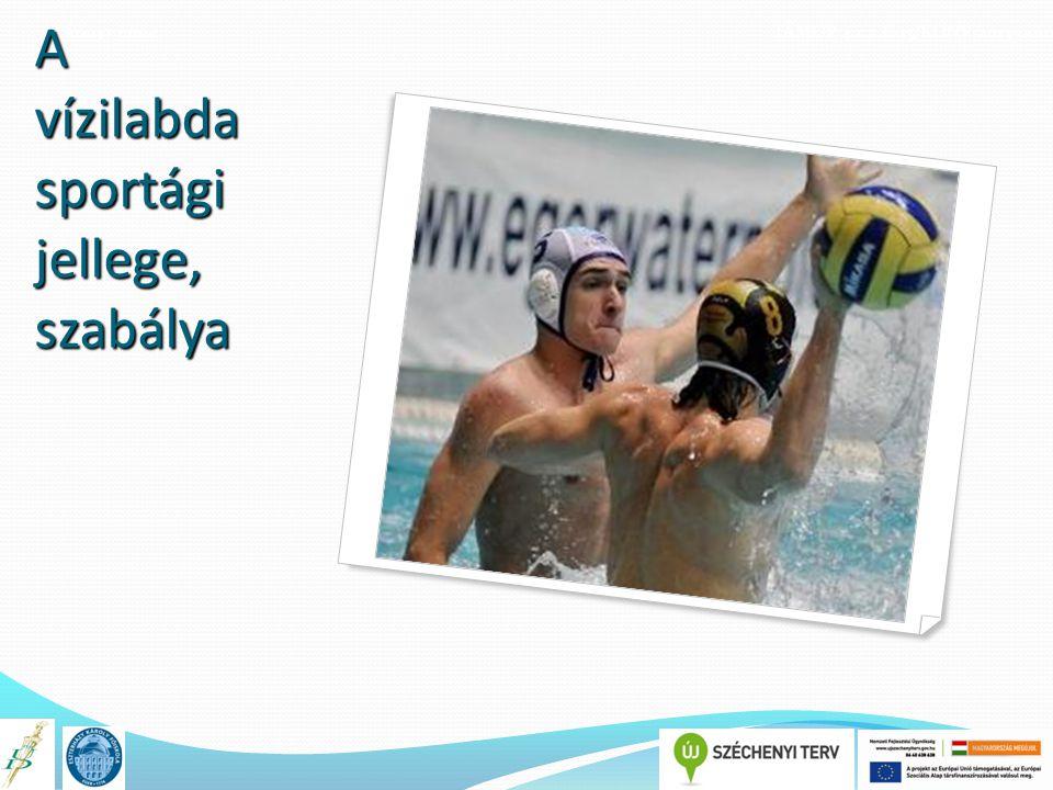 A könyv címe TÁMOP 4.1.2.E-13/KONV-2013-0010 A vízilabda sportági jellege, szabálya