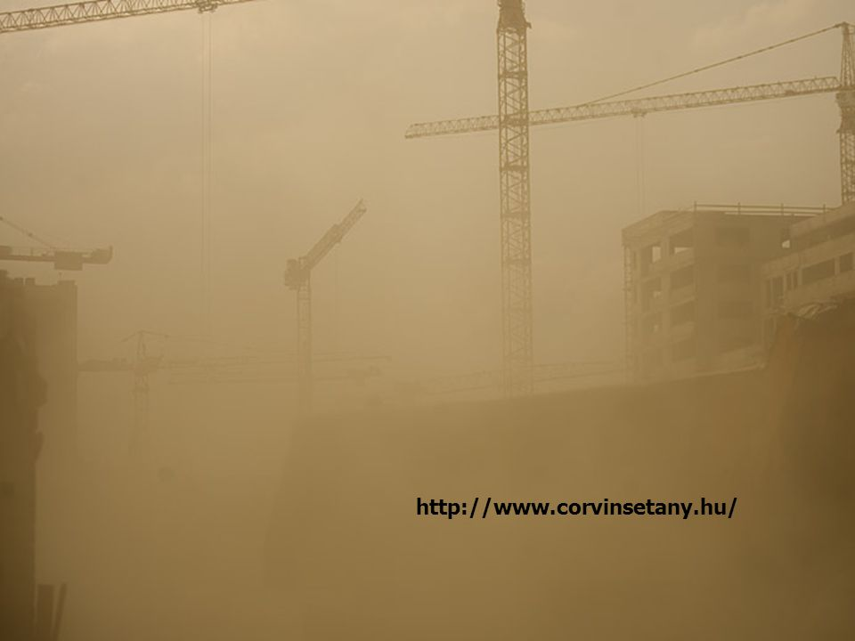 Kihívások Monofunkcionális lakótelepek organizálása, beépítése a városi környezetbe Monofunkcionális lakótelepek organizálása, beépítése a városi környezetbe Belső szerkezet átalakítása (elhanyagolt belvárosok rekonstrukciója) http://www.corvinsetany.hu/
