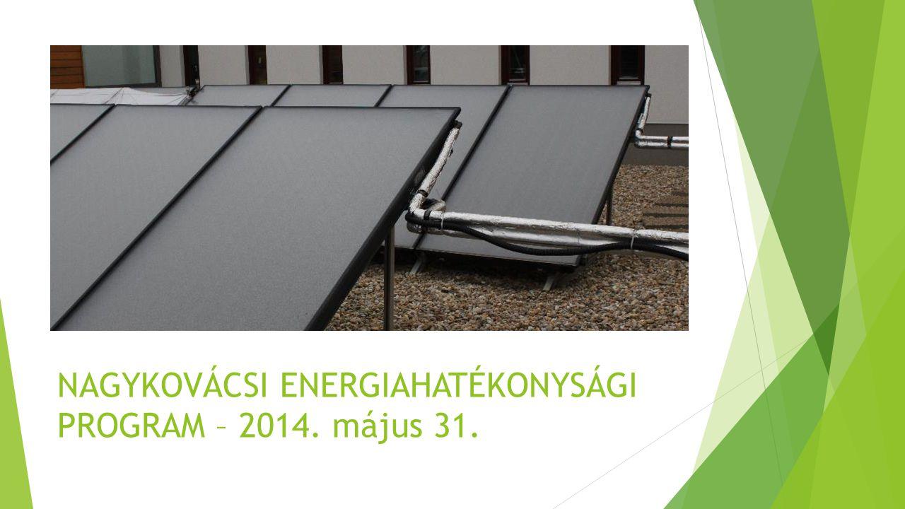 Nagykovácsi energiatudatos település forrás: alapadatok KSH Online tájékoztatási adatbázis, Területi statisztika lekérdezés alapján számításokat végezte TREBAG Kft., grafikai ábrázolás Trebag Kft.