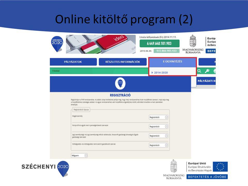Online kitöltő program (2)