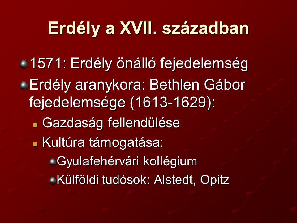Erdély a XVII.