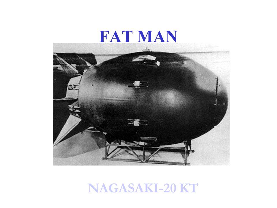 FAT MAN NAGASAKI-20 KT