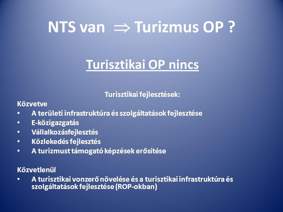 NTS van  Turizmus OP .