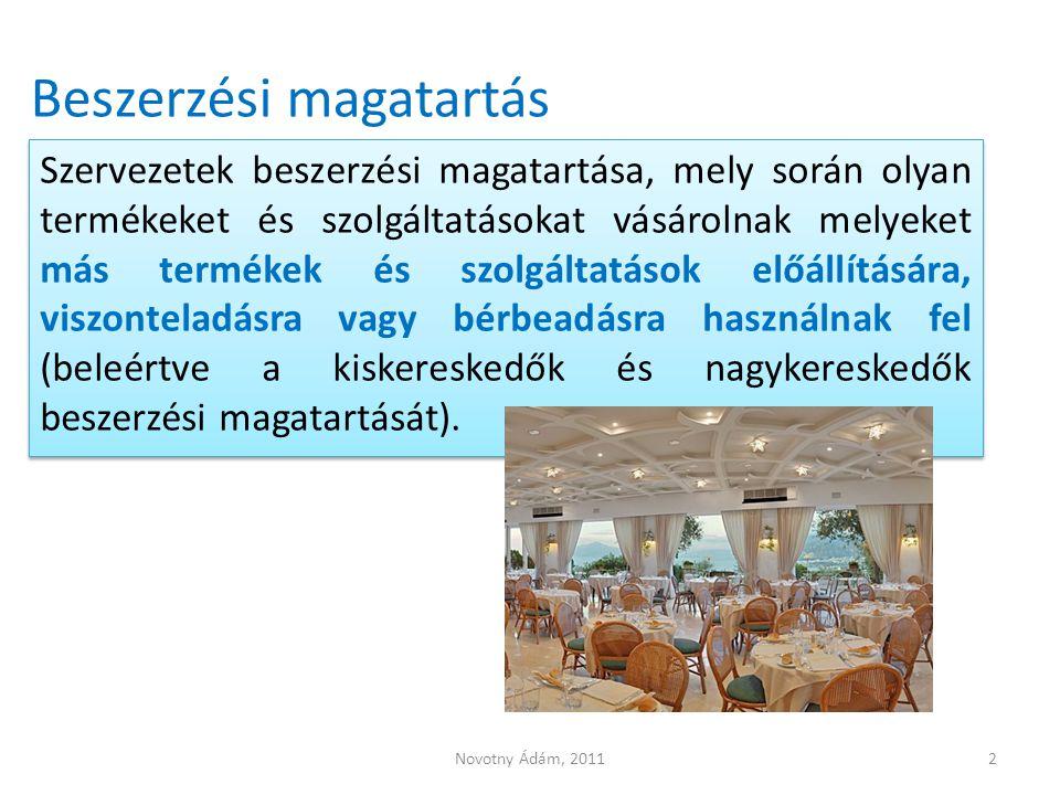 Üzleti vs.fogyasztói piacok Üzleti piac Kevesebb, de nagyobb vevő (pl.