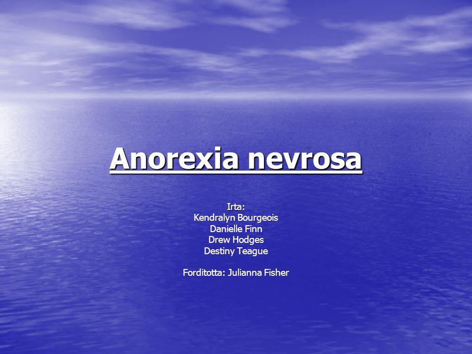 Mi az Anorexia nevrosa.