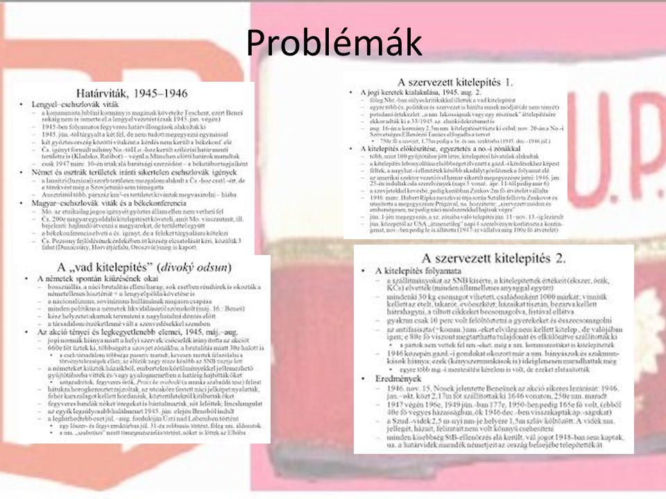Problémák