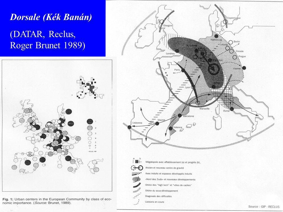Gerinc Történeti múlt (Pounds 1997, Braudel 2003, …) - római idők.