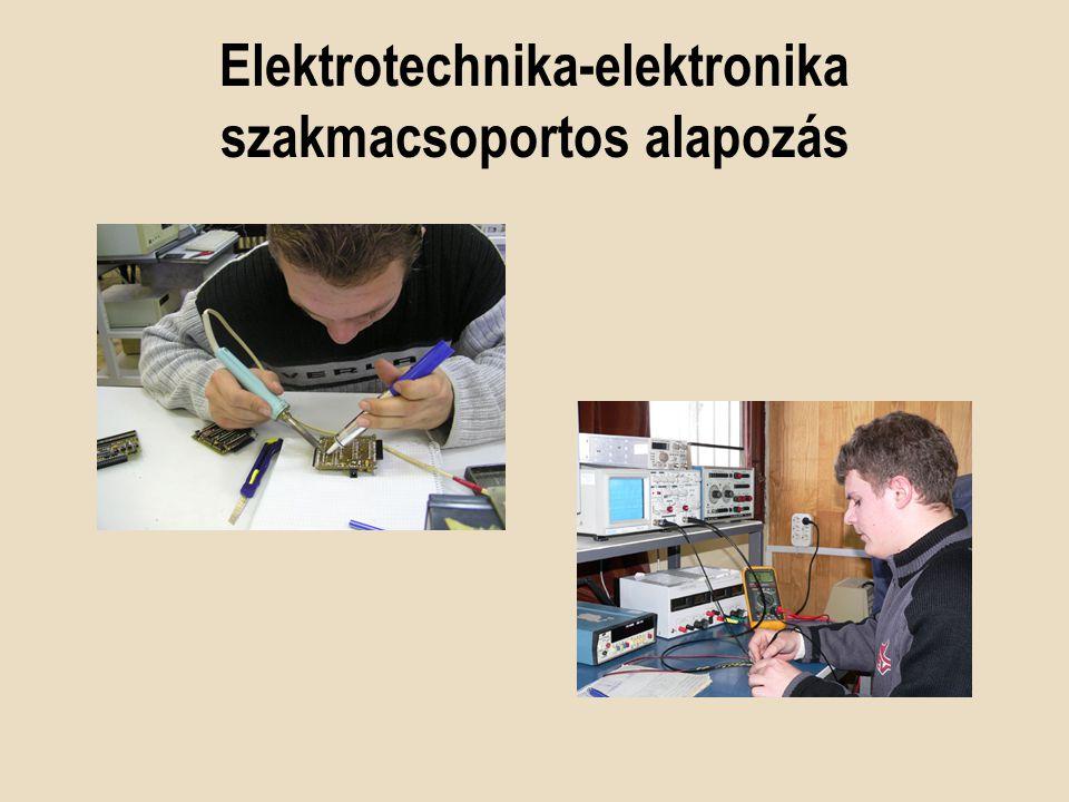 Amit tanulunk Elektrotechnikai ismeretek Egyen és váltóáramú hálózatok Villamos gépek Analóg és digitális áramkörök Irányítástechnika PLC programozás…