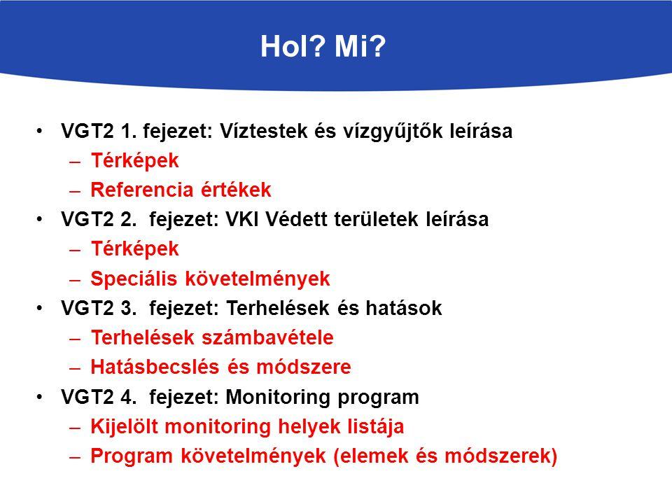 Hol.Mi. VGT2 6. fejezet: Állapotértékelés –Értékelés eredménye –Módszertan VGT2 7.