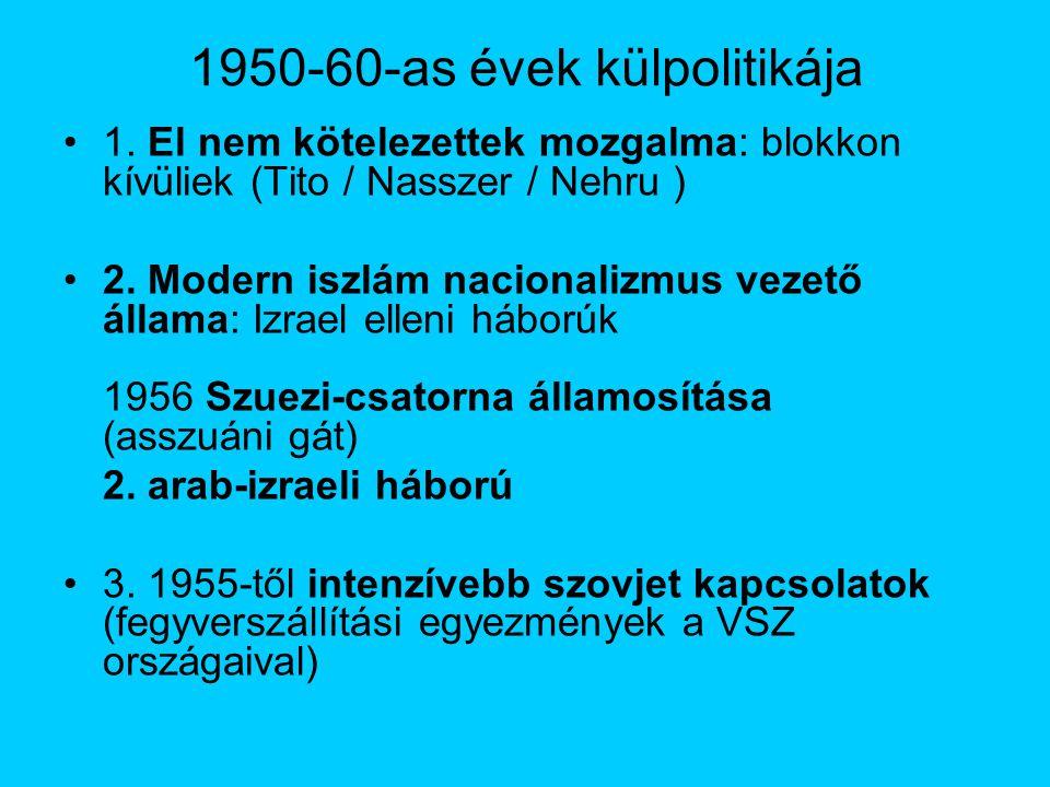 1950-60-as évek külpolitikája 1.