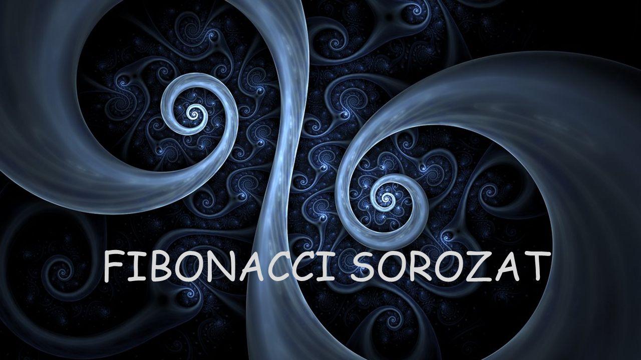 TÖRTÉNETE Leonardo Pisano (1170-1250): ismertebb néven Fibonacci olasz kereskedő-matematikus Kora matematikai ismereteit Liber Abaci címen ismert munkájában foglalta össze.