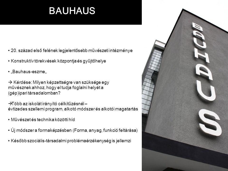 BAUHAUS 20.