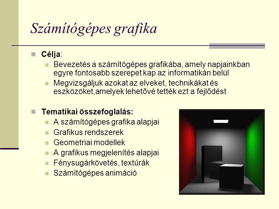 Fénysugárkövetéses (ray-tracing) kép